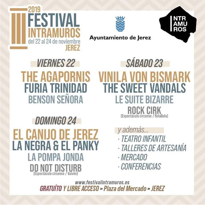 III FESTIVAL INTRAMUROS Familia con Niños (JEREZ) Del 22 al 24 de Noviembre de 2019