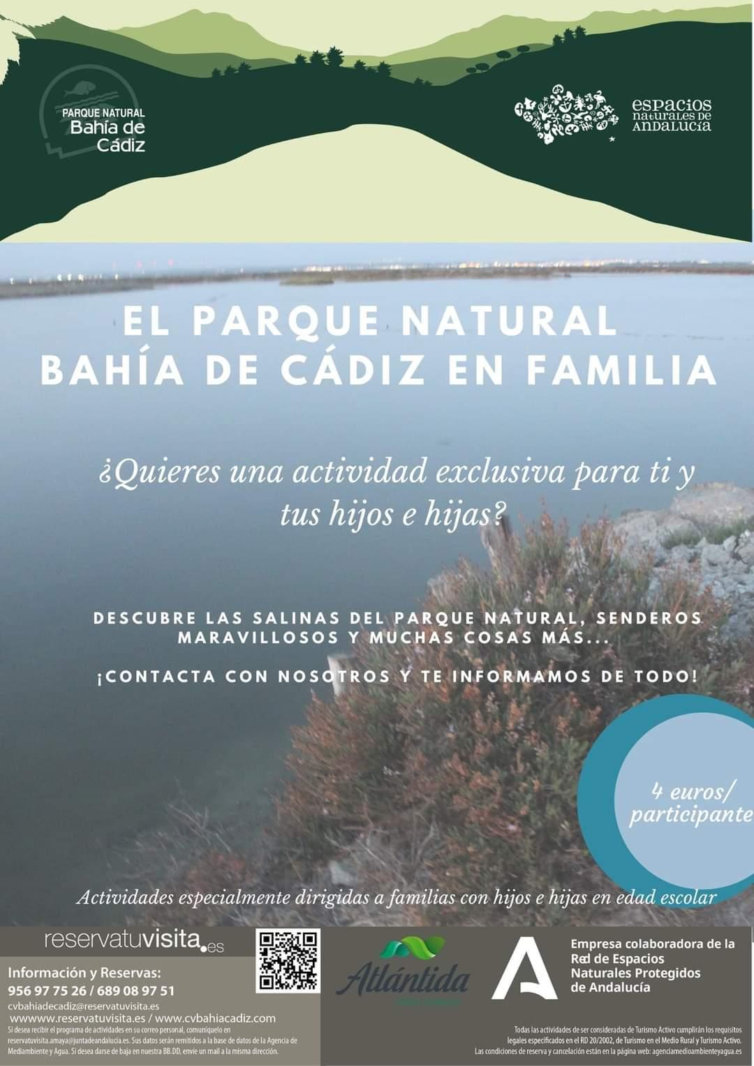 parque natural bahia de cadiz en familia otoño 2020