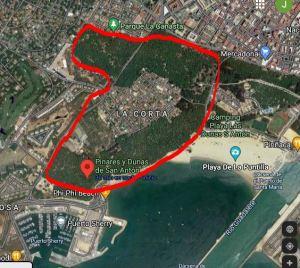 mapa dunas san anton adondevoyconmifamilia
