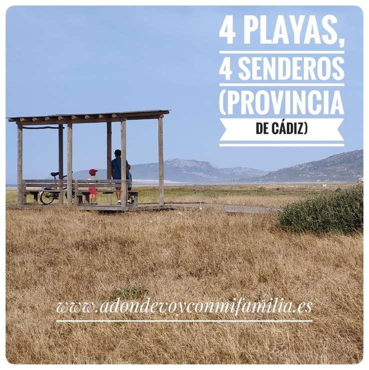 4 playas con 4 senderos provincia de cadiz adondeoyconmifamilia portada