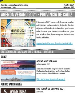 080 210707 Agenda Familiar 7 julio 2021 Adondevoyconmifamilia portada