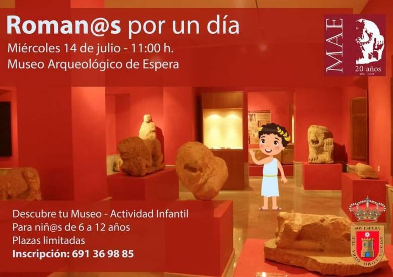 taller romanos museo arqueologia espera verano 2021