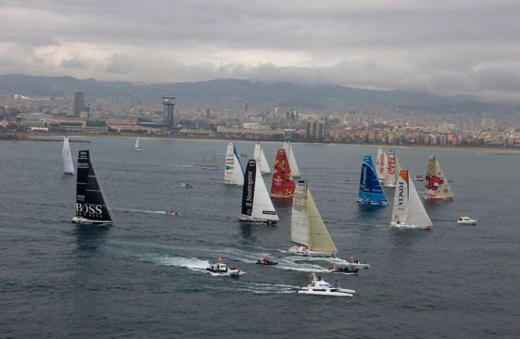 SAILING - BARCELONA WORLD RACE 2010-2011 - BARCELONA (SPA) - START