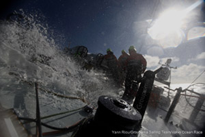 Yann Riou/Groupama Sailing Team/Volvo Ocean Race