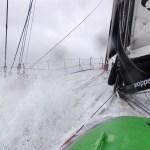VENDEE GLOBE 2012/2013 - SOUTH ATLANTIC OCEAN - 8/12/2012 - PHOTO : SOUTH ATLANTIC OCEAN (ITA) / TEAM PLASTIQUE - 50 KNOTS OF WIND