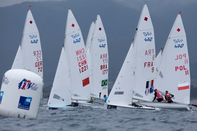 SAILING - SAILING WORLD CUP 2013 - MEDAL RACES