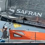 SAFRAN - Marc Guillemot - Arrivée Rotue du Rhum 2014