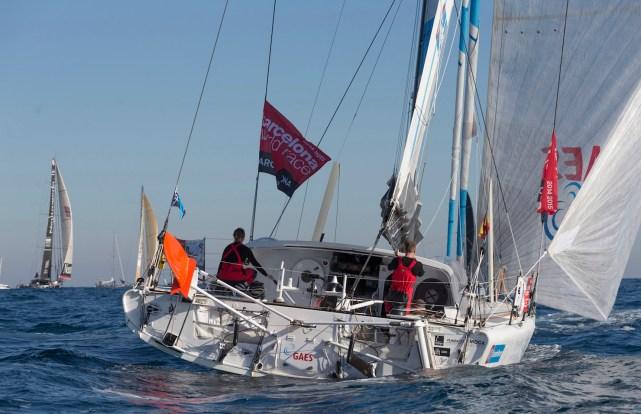 © Gilles Martin-Raget / Barcelona World Race