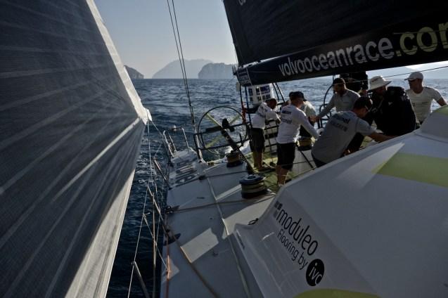 course au large vo65 volvo ocean race 2014 leg02 Team Brunel stefan Coppers 1110502 _1_
