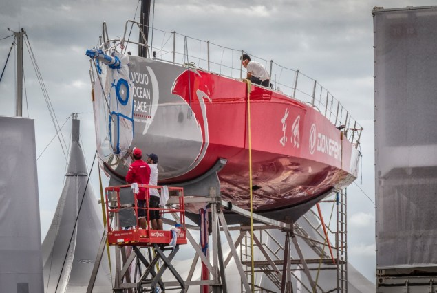 2014-15, Brazil, Dongfeng Race Team, Itajai, Village, Volvo Ocean Race, maintenance