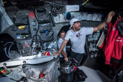 2014-15, Dongfeng Race Team, Leg6, OBR, VOR, Volvo Ocean Race, onboard, life on board, Martin Stromberg, Eric Peron