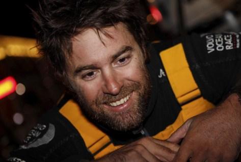 VOR, Volvo Ocean Race, 2014-15, Newport, arrivals, aerial, Abu Dhabi Ocean Racing, Daryl Wislang