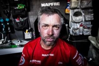 2014 - 15, Leg6, MAPFRE, OBR, Rob Greenhalgh, VOR, Volvo Ocean Race, onboard, portrait, face, down below