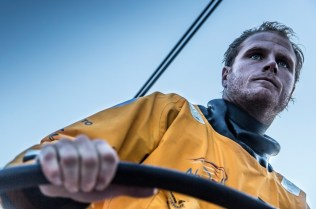 2014-15, Abu Dhabi Ocean Racing, Leg7, VOR, Volvo Ocean Race, onboard, Luke Parkinson, helm