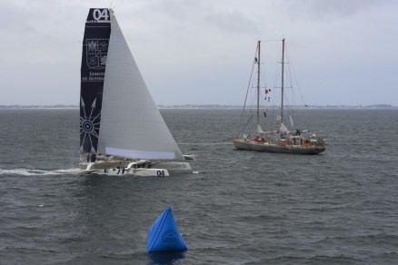 TOUR DE BELLE ILE, VOILE, REGATE, SAILING