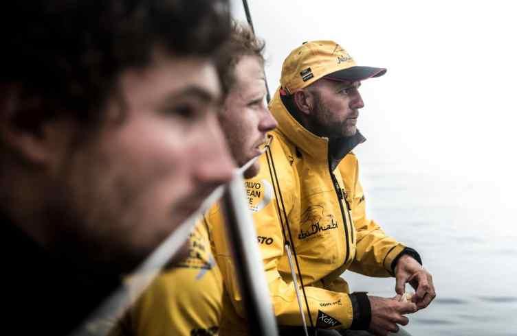 2014-15, Abu Dhabi Ocean Racing, Leg 8, VOR, Volvo Ocean Race, onboard, Ian Walker, Luke Parkinson, Louis Sinclair, face
