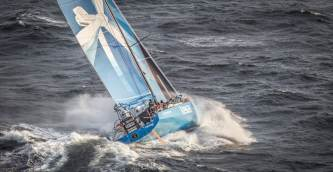 2014-15, Costa da Morte, Leg8, Team Vestas Wind, VOR, Volvo Ocean Race, aerial, sortie