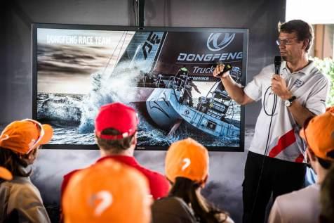 Volvo Ocean Race, Hospitality, Guests, Auckland, VOR, 2014-15, VIP, Sailors Terrace, Knut Frostad