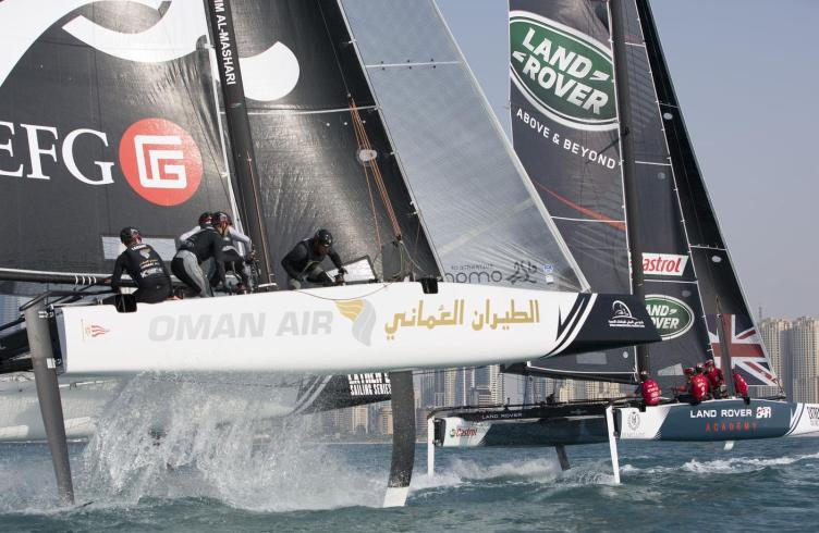 ESS, Multihull, GC32, Foiling, Catamaran, Dubai, Extreme Sailing Series 2016