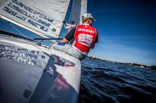 Sail, Sailing, SSL, Star Sailors League, Hamburg, City Grand Slam, Lake Alster, Norddeutscher Regatta Verein, Crew, Sport, Outdoor, Regatta, Urs Infanger, Oleg Chtchetinine