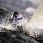 2016, Classes, FRA Jonathan Lobert FRAJL23, Finn, Olympic Sailing, Rio 2016 Olympic Games, Rio 2016 Olympics, World Sailing