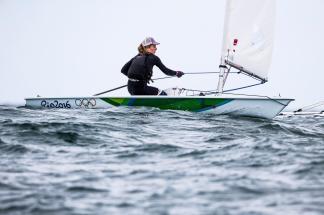 2016, Classes, FRA Mathilde de Kerangat FRAMD50, Laser Radial, Olympic Sailing, Rio 2016 Olympic Games, Rio 2016 Olympics, World Sailing