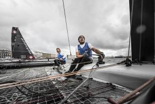 The Extreme Sailing Series 2016, St Petersburg, Russia, Multihull, Act5, Foiling, GC32, Catamaran, Day4