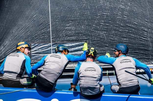 GC 32, GC 32 Racing Tour, GC 32 SOTOGRANDE, Multihull, Sebastien Rogues Gurvan Bontemps Antoine Joubert Jean-Baptiste Gellee Benjamin Amiot, Sotogrande, Team Engie, catamarans, foil