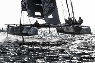 The Extreme Sailing Series 2016, Multihull, Foiling, Catamaran, GC32, Sailing, Racing, Lisbon, Day4