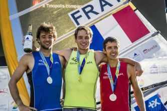 2017, Classes, FRA 1 Louis Giard FRALG33, FRA 77 Pierre Le Coq FRAPL12, Marina Garcia, Olympic Sailing, RS:X Men, SUI 36 Mateo Sanz Lanz SUIMS27, Sailing Energy, World Sailing, World Sailing's 2017 World Cup Series Miami