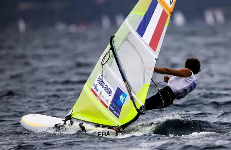 2017 World Cup Series Hyères, Classes, FRA 3 Thomas Goyard FRATG15, Olympic Sailing, Pedro Martinez, RS:X Men, Sailing Energy, World Cup Series Hyères 2017, World Sailing