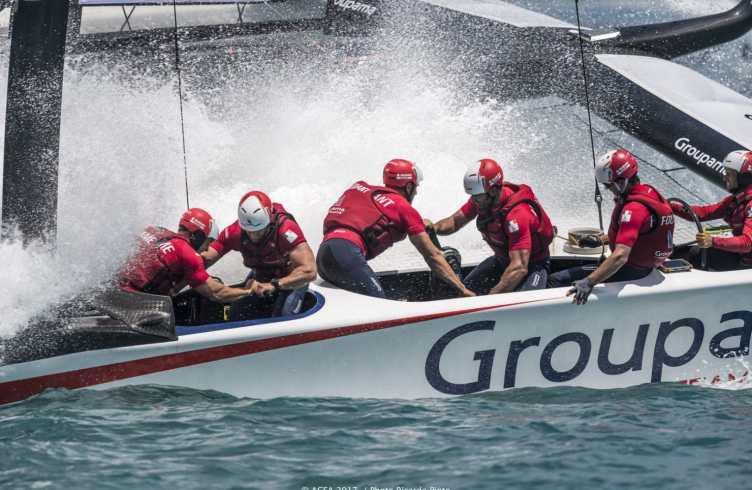 2017, 35th America's Cup Bermuda 2017, AC35, Bermuda, GTF, Groupama Team France, Sailing, Qualifiers, Day 1, Race, RD1