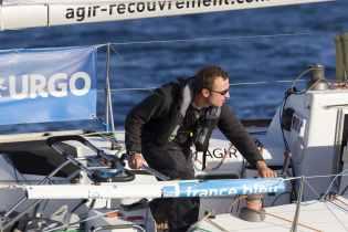 ADRIEN HARDY, AGIR RECOUVREMENT, ETAPE 1, SOLITAIRE URGO LE FIGARO 2017