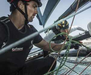 The Extreme Sailing Series 2017, Madeira, Foiling Catamaran, GC32, Sailing, Yacht Racing, Multihull, inteview