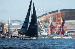 Cardiff, Day4, ESS, Extreme Sailing Series, GC32, NZ Extreme Sailing Team, Vincent Curutchet