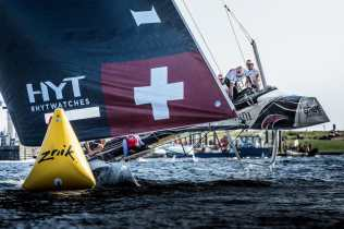 Alinghi, Cardiff, Day4, ESS, Extreme Sailing Series, GC32, Vincent Curutchet