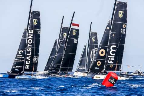 .FILM RACING, Calvi, Corsica, Extreme sailing, Fastest boats, GC32, GC32 Orezza Corsica Cup, GC32 Racing Tour, MALIZIA - YACHT CLUB DE MONACO, REALTEAM, TEAM ENGIE, catamaran, foiling, foiling catamaran, one design yacht, sailing, speed, yachting