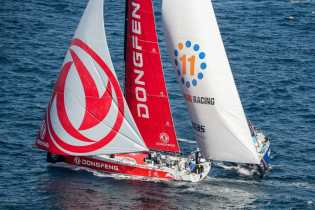 Aerial,Spain,Alicante,Dongfeng,2017-18,port, host city,Vestas 11th hour Racing,Kind of picture,MAPFRE In-Port Race Alicante