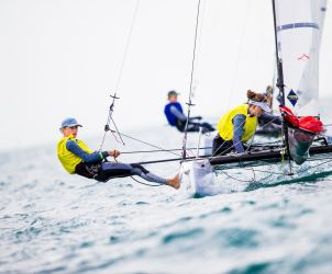 Nacra 15 Open, SUI Max Wallenberg Amanda Björk-Anastassov, Sailing Energy, World Sailing, Youth Sailing World Championship, Youth Worlds, classes
