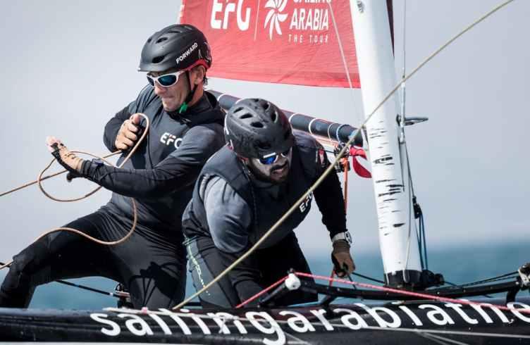 Water Sport, Sailing, Diam24, Multihull, Oman, 2018 EFG Sailing Arabia The Tour, Sur