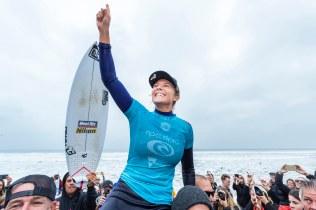 2018, 2018 Championship Tour, Bells Beach, CT, Championship Tour, Surf, Surfing, Torquay, WSL, World Surf League, World Champion, Celebration, Women, Stephanie Gilmore