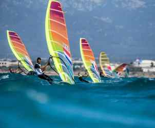 2018, Mallorca, NED 1 RS:X Men NED-9 Kiran BADLOE, Olympic sailing, RS:X Men, Trofeo Princesa Sofia Iberostar