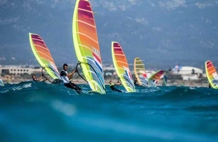 2018, Mallorca, NED 1 RS:X Men NED-9 Kiran BADLOE, Olympic sailing, RS:X Men, Trofeo Princesa Sofia Iberostar