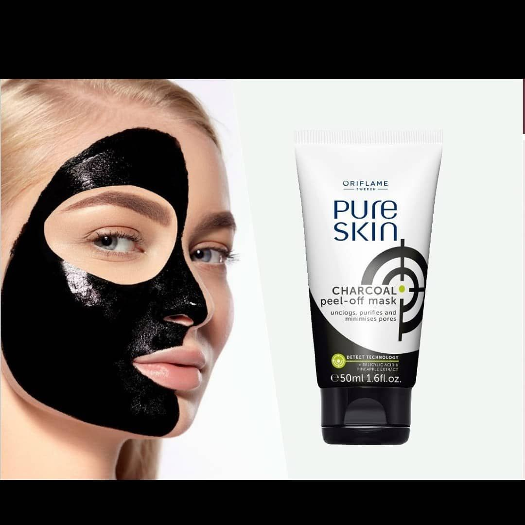 Pure Skin Charcoal Peel Off Mask Adopshop