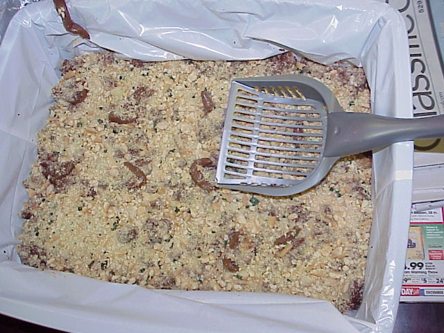 Kitty Litter Cake.
