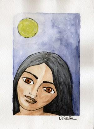 lune femme moon women