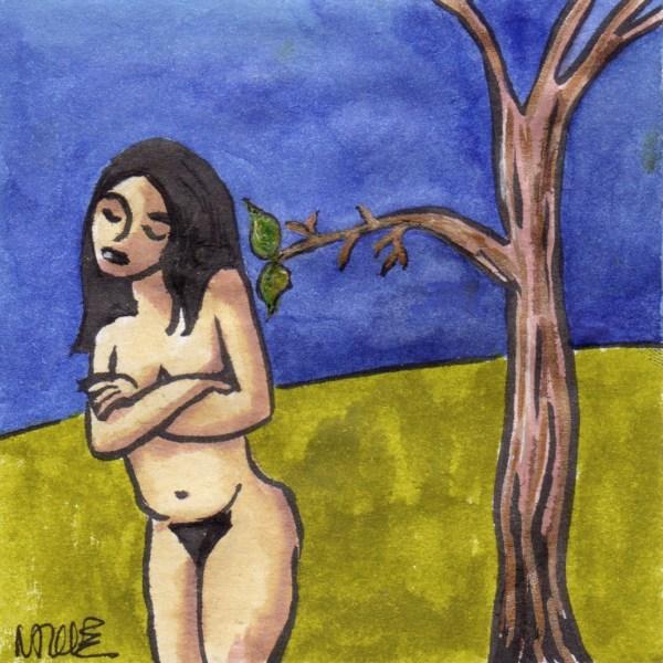 drawing woman