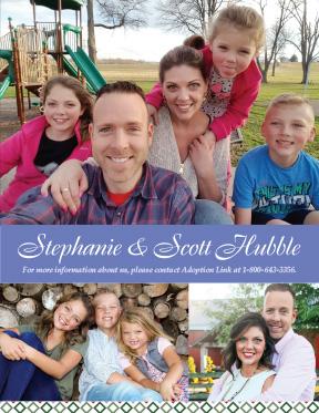Put a fun photo on your adoption profile cover.