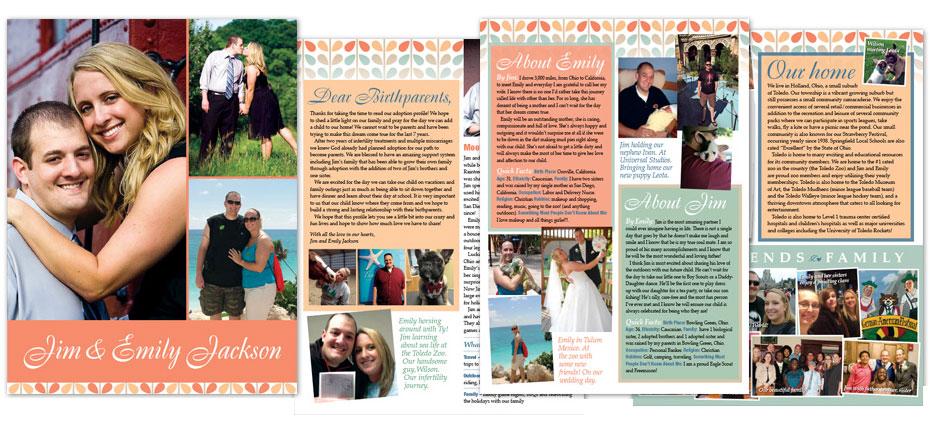 Heartfelt Spirit Adoption Profile Design