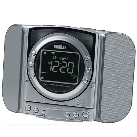 Rca Rp5640 Am Fm Cd Clock Radio W Dig